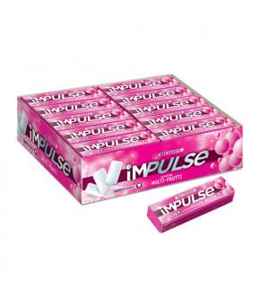 Жевательная резинка Impulse со вкусом фруктов 14г
