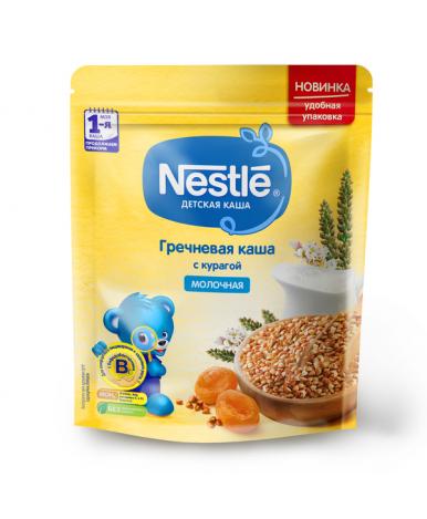 Каша Nestle гречневая курага молочная дой-пак 220г