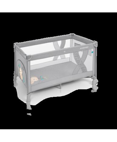 Кровать-манеж SIMPLE 2019 07 light gray