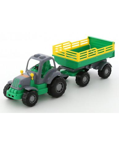 """Крепыш"", трактор с прицепом №2"