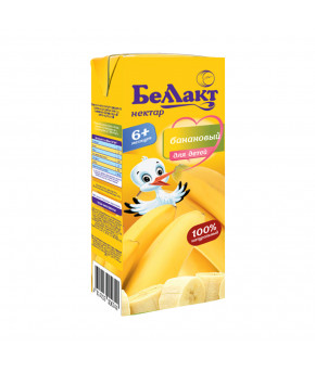 "Нектар ""Беллакт"" банан с мякотью, 200мл"