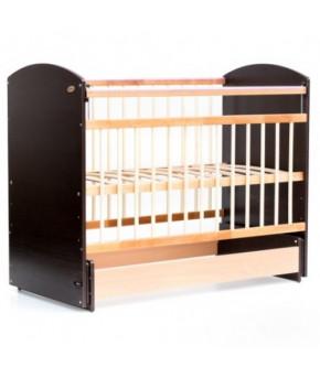 Кровать детская Bambini Elegance 08, венге/натуральный