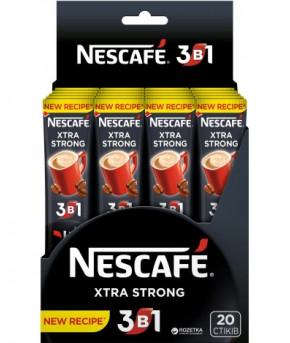 Кофе Nescafe 3 в 1 экстра стронг 13г