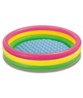 Бассейн надувной Intex Три кольца