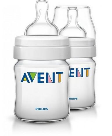 Бутылочка Avent Classic+, 125мл (уп.2шт)