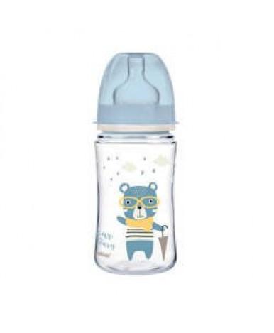 Бутылочка Canpol EasyStart пластиковая голубая 240мл