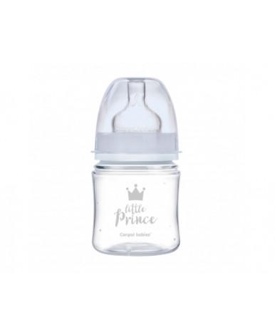 Бутылочка Canpol для кормления Little Princess пластиковая голубая 120мл