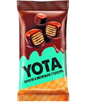 Драже Yota Вафельное в молочной шоколадной глазури 40г