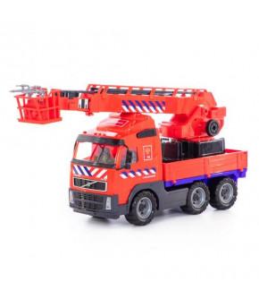 Автомобиль пожарный Полесье Volvo (NL) (в сеточке)