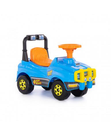 Автомобиль-каталка Полесье Джип №4 (голубой)