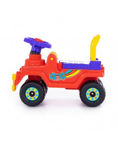 Автомобиль-каталка Полесье Джип 4х4 №4 (красный)