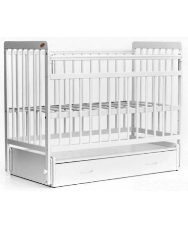 Кровать детская Bambini Euro Style 04, белый
