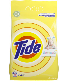 Стиральный порошок Tide детский автомат 2.4кг 0+