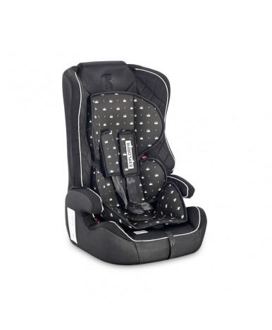 Автокресло Lorelli Explorer Black Crowns 2021 (9-36кг)