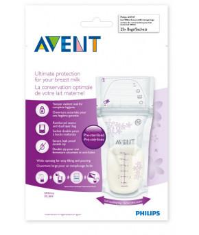 Пакеты Avent для хранения молока, 25шт