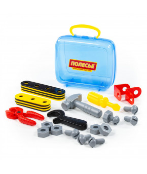 Набор инструментов Полесье Механик 30 элементов (в чемоданчике)