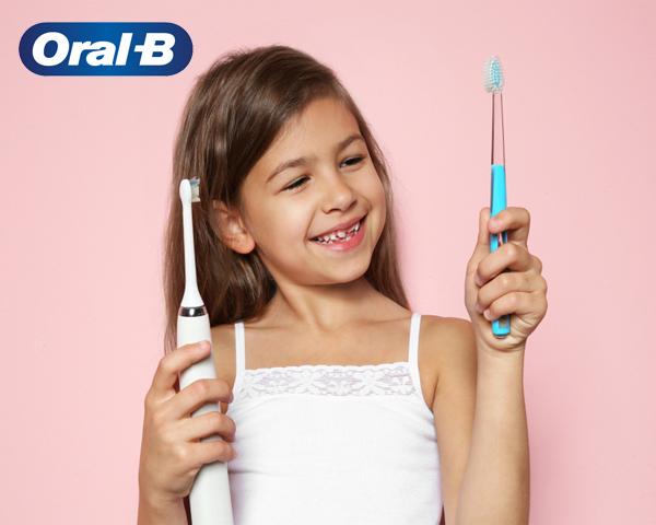 Уход за зубками вместе с Oral-b!