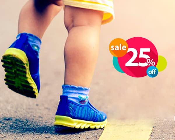 СКИДКА 25%! На обувь для Вашего ребенка!